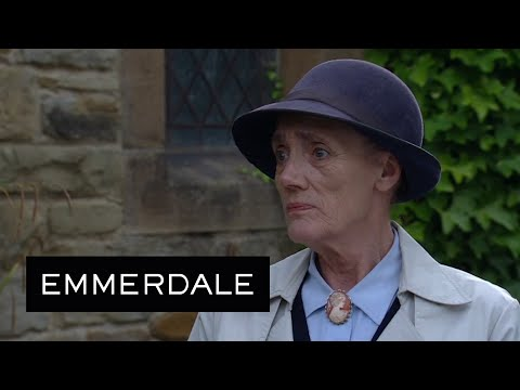 Lawrence White Forgives Edna And Tells Her To Start Living For Now - Emmerdale