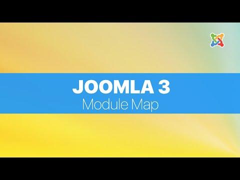 Joomla 3 FULL Tutorial For Absolute Beginners - Module Map