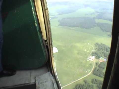 Первый прыжок с парашютом. Как это выглядит.