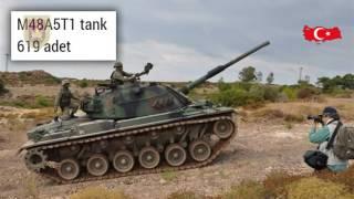 القوات البرية للجيش التركي.. القوة العسكرية .. أسلحة مع الأرقام