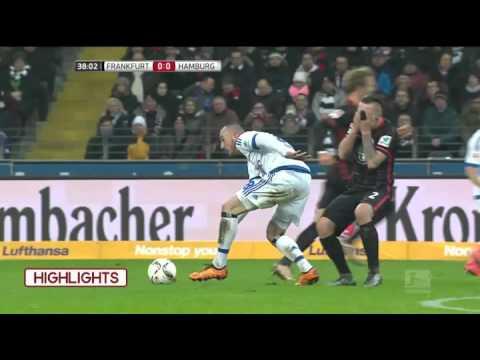 Bundesliga 2015-16, Eintracht Frankfurt vs Hamburger  Match Highlights (0-0): Frankfurt and Hamburg