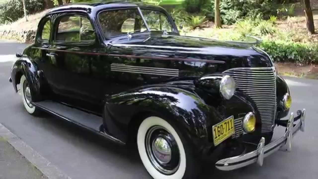 1939 Chevrolet Master 85 Business Coupe Www Charvetcliccars Com You