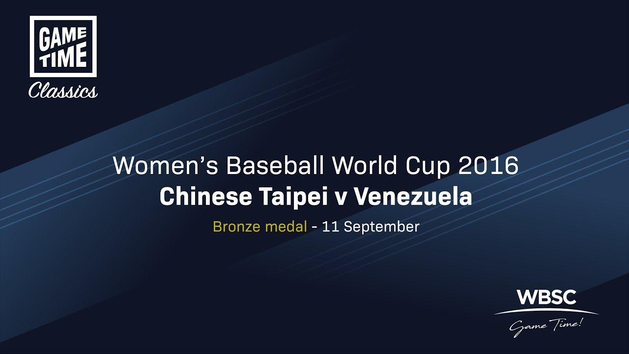Chinese Taipei v Venezuela - Bronze Medal Game - Women's Baseball World Cup 2016