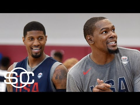Kevin Durant With Ulterior Motives In Encouraging Thunder For Paul George? | SportsCenter | ESPN