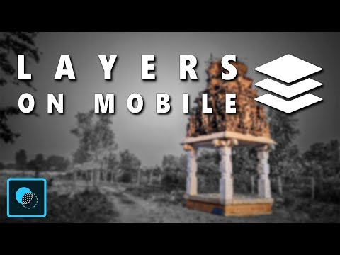 Layers On Mobile | Adobe Photoshop Mix | Android | IPhone