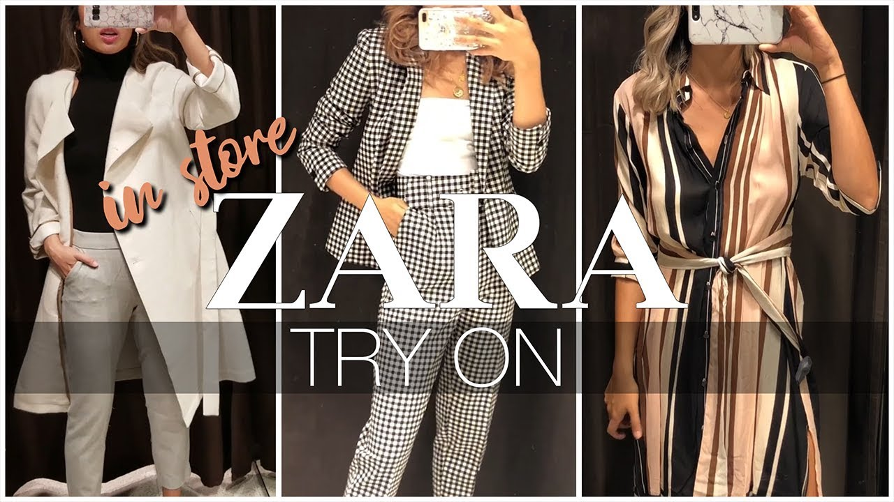 ZARA IN-STORE TRY-ON + LOOKBOOK - FALL 2018 1