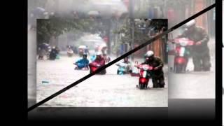 Lụt từ ngã tư đường phố   Táo quân 2009
