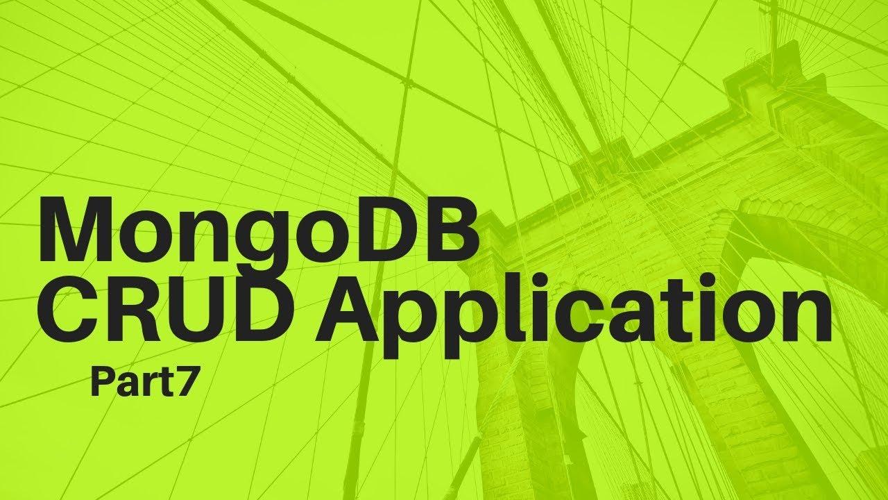 Todo Rest MongoDB NodeJS CRUD App Part 7: Fetch API GET Request