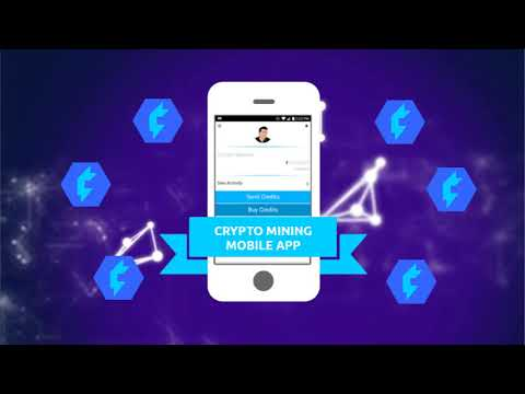 Credits Cryptocurrency Mobile Mining App