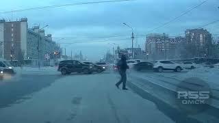 Подборка ДТП за декабрь 2016, Омск