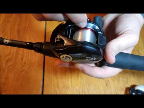 Spooling Line On To A Baitcaster: Using Seaguar Red Label