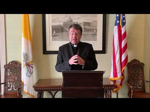 Special Greeting from the Apostolic Nunciature Archbishop Christophe Pierre