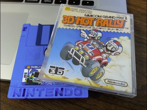 Classic Game Room - FAMICOM GRAND PRIX II: 3D HOT RALLY review for Famicom Disk System
