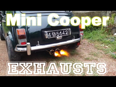 Mini Cooper Exhausts And Flamethrowers Youtube