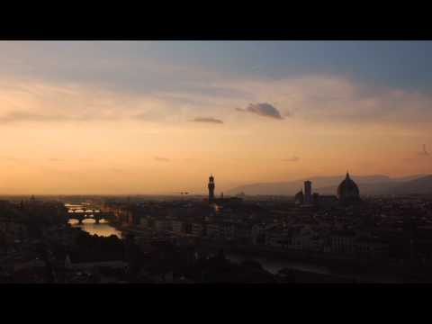Sunset timelapse over Florence, Italy.