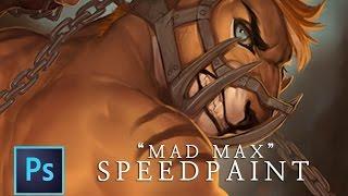 Mad Max - Fur(r)y Road Speedpaint (720p HD)