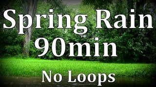 Repeat youtube video Spring Rain in the City 90mins