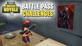 Fortnite | Battle Pass Challenges | Week #6 | Spray Over Different Carbide/Omega Posters! (ALL)