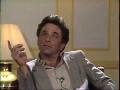 with Peter Falk