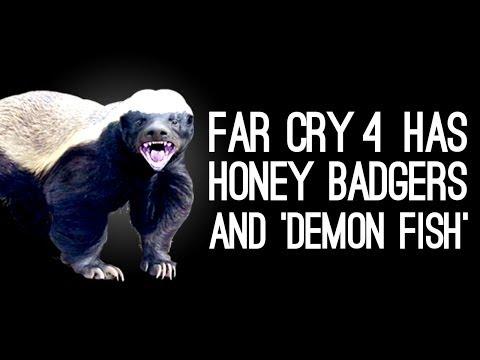 42bcb2a3c1b Far Cry 4 Has Honey Badgers, 'Demon Fish'