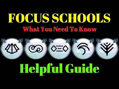 Warframe | Focus Schools | What You Need To Know