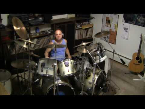 Humble Pie - Hallelujah I Love Her So - drum cover