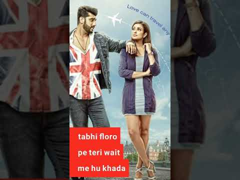 bhare-bazar-full-screen-whatsapp-status-arjun-parineeti-and-badshah-with-lyrics-ll-naamaste-england