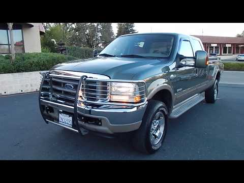 2004 Ford F350 King Ranch Powerstroke Turbo Diesel 4X4 1 owner video overview and walk around.