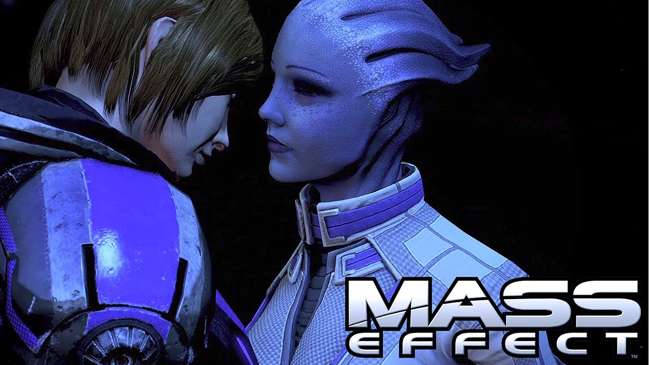 LIZZIE: Mass effect liara tsoni and shepard romance compilation