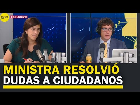 Perú: Ministra De Economía Respondió Dudas De Los Ciudadanos En RPP