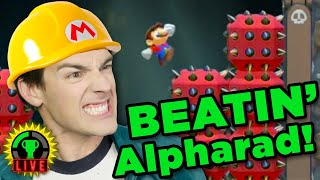MatPat vs Alpharad - Can I Win?! | Super Mario Maker 2 (Now w/ working mics!)