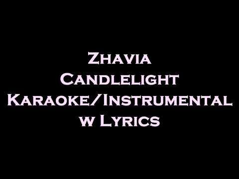 zhavia---candlelight-karaoke/instrumental-w-lyrics