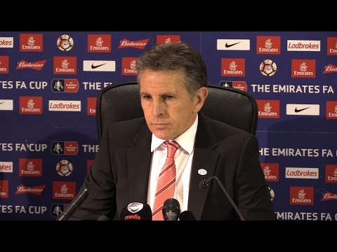 Southampton 0-5 Arsenal - Claude Puel Full Post Match Press Conference - FA Cup