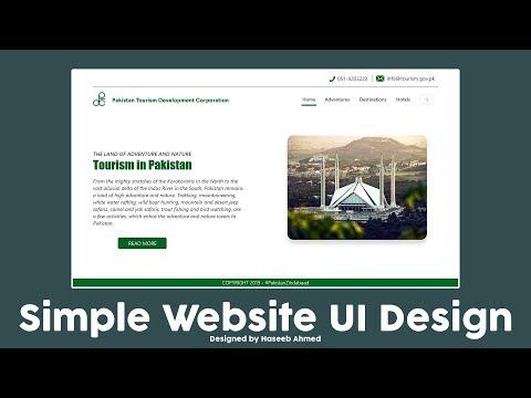 Website UI Design Tutorial 2019 | Using Adobe XD | Timelapse thumbnail