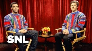 SNL Digital Short: Drake Interview - Saturday Night Live