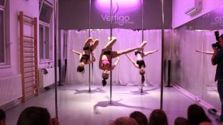Vertigo Spring party 2015 - Pole Fitness L3 + L4: Sigma labirynth