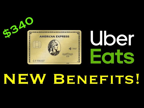 Amex Gold Card NEW Benefits!! (-$90 Effective Annual Fee)