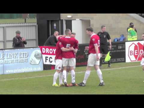 Corby Town 2 - 3 FC United. 9 April 2016