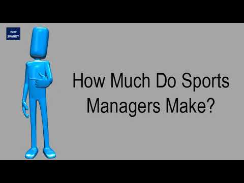 How Much Do Sports Managers Make?