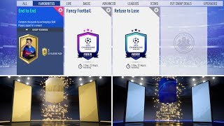 FIFA 19 / END TO END, FANCY FOOTBALL, REFUSE TO LOSE SBC / WALKOUT surprinzator dintr-un mini pack
