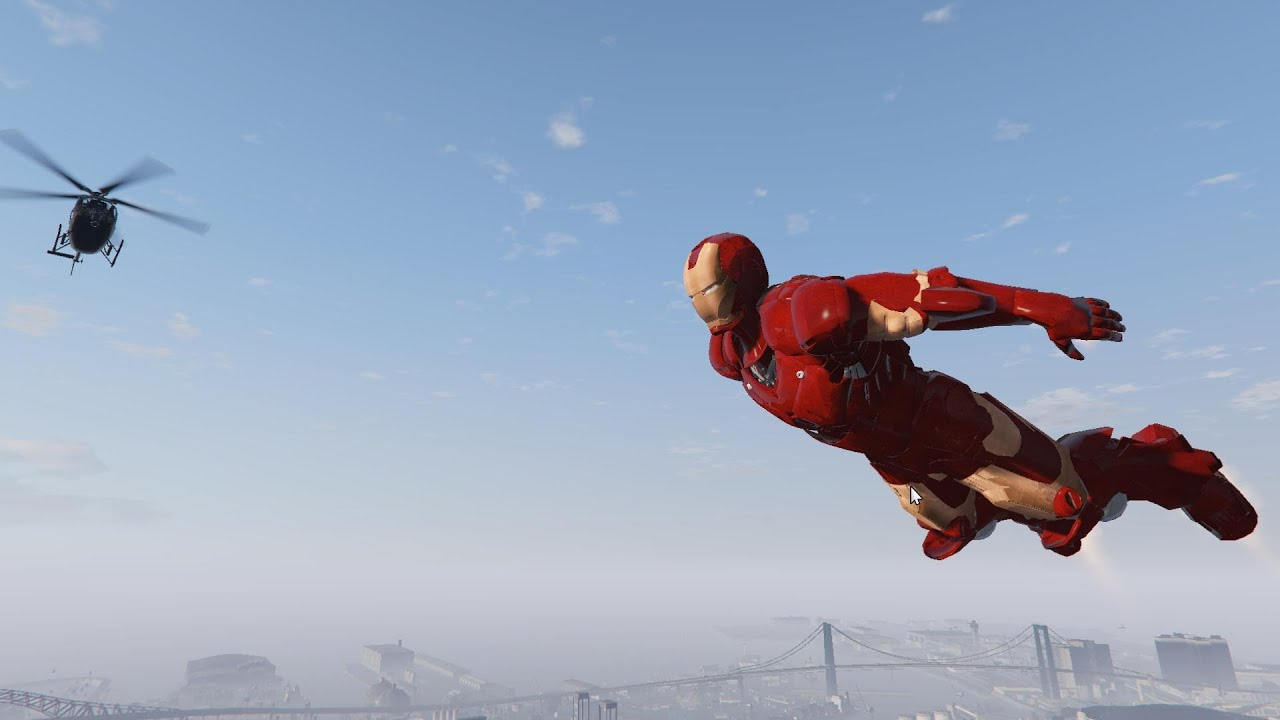 Grand Theft Auto V': Iron Man Mod Lets You Play Like Tony Stark