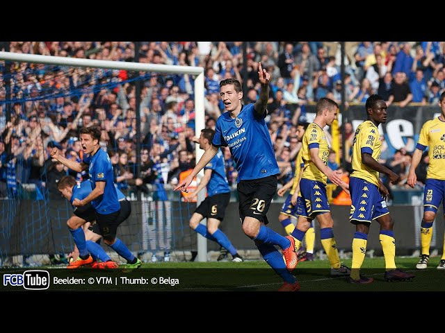 2016-2017 - Jupiler Pro League - 30. Club Brugge - Sint-Truiden 2-2