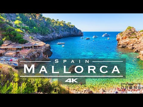 Mallorca, Spain 🇪🇸 - By Drone [4K]