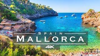 Mallorca, Spain 🇪🇸 - by drone [4K]