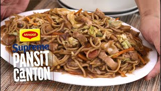 How to Cook Supreme Pansit Canton with MAGGI