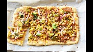 Tex-Mex flatbread bites