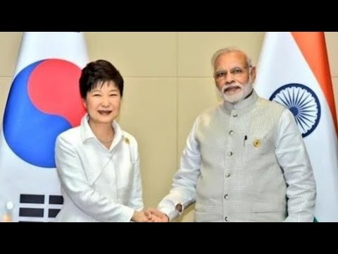 PM Modi Holds Bilateral Talks With President of South Korea Park Geun-hye