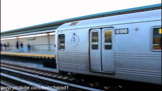 IND Subway: Beach 90th & Far Rockaway Bound R46 (H) Shuttle Train at B. 44th St
