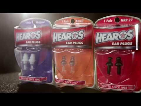 Stephen Perkins talks about Hearos Ear Plugs