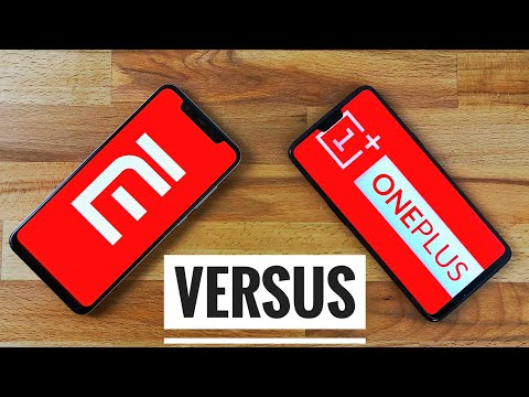 Xiaomi Mi 8 Vs OnePlus 6 Impressionante Speed Test !